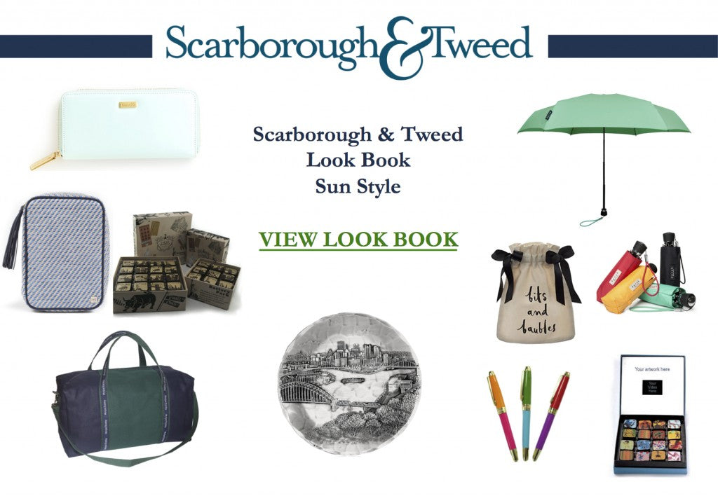 Scarborough & Tweed Look Book - July 2015 - Sun Style - Final - Cover