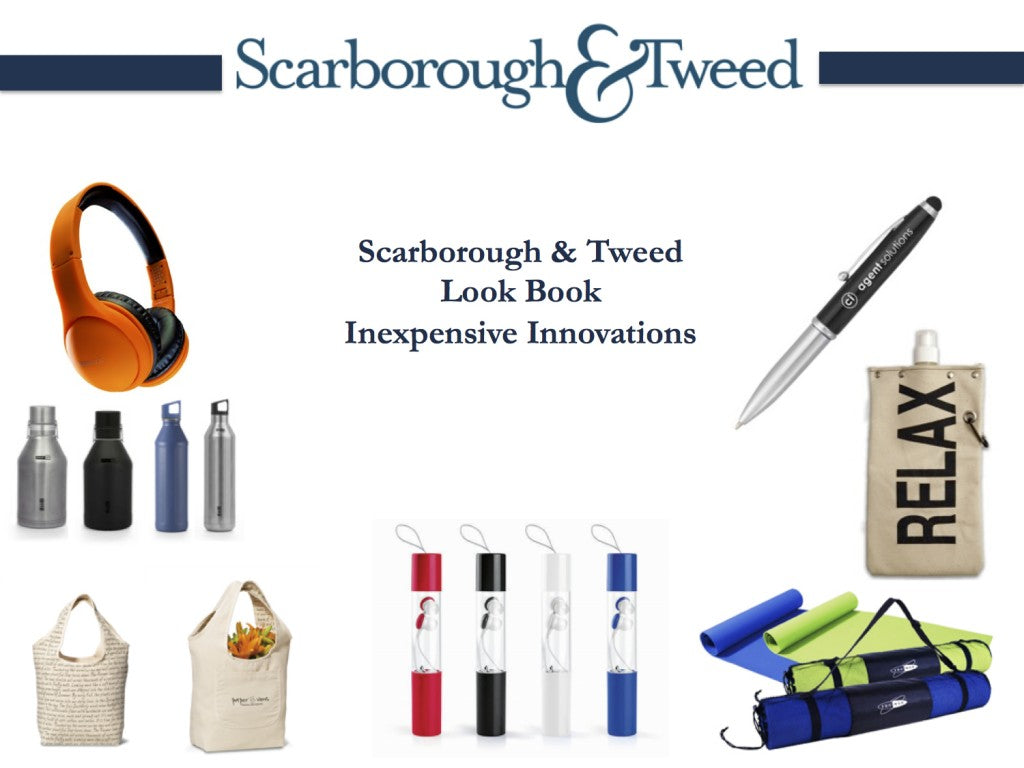 Scarborough & Tweed Look Book - March 2015 - Inexpensive Innovations - Final - Cover
