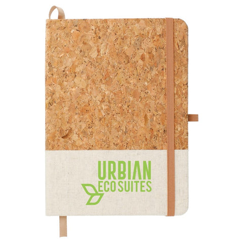 Cork and Jute Bound Notebook