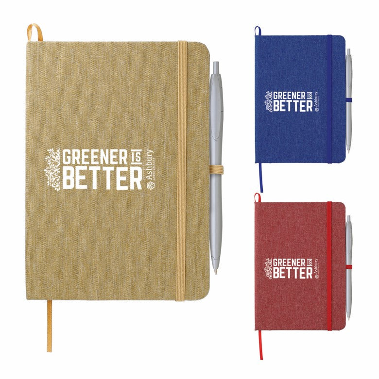 Recycled Cotton Bound Notebook
