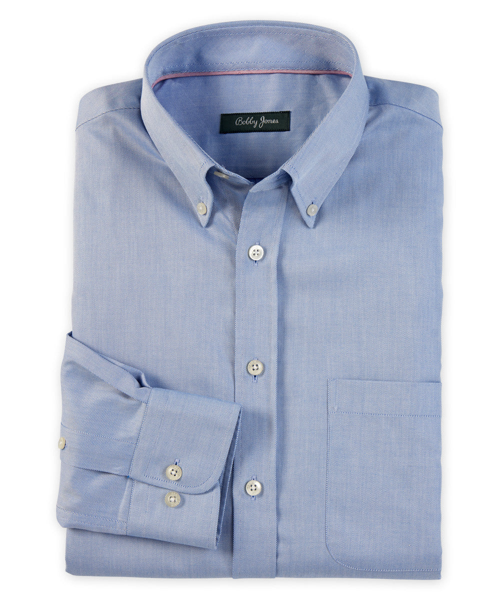 Bobby Jones Twill  Button-Down Shirt