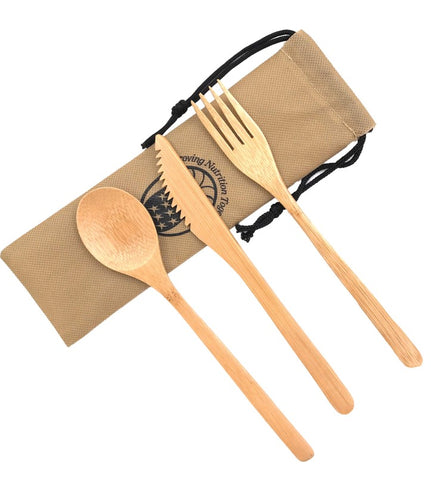 Bamboo Utensil Sets