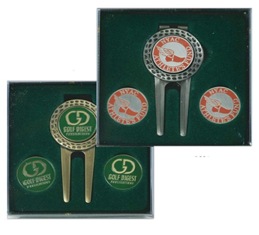 Barrington Divot Tool and Money Clip Gift Set