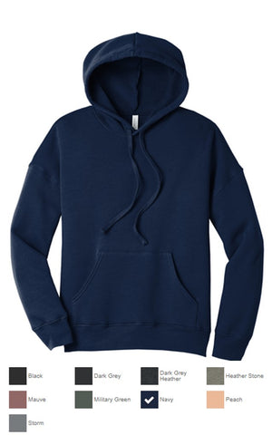 Bella+Canvas Unisex Sponge Fleece Hoodie