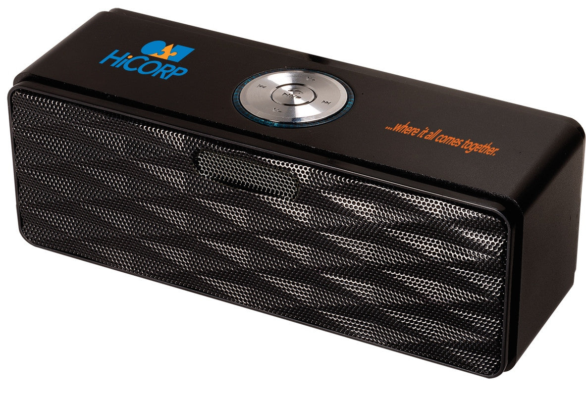 Bluetooth Mini-Boom Speaker/FM Radio