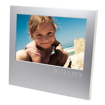 Brush Metal Finish Photo Frame