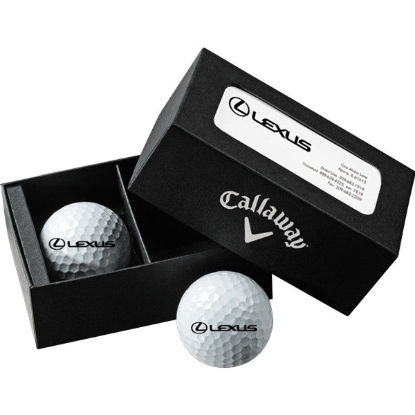 Callaway Two-Ball Business Card Box