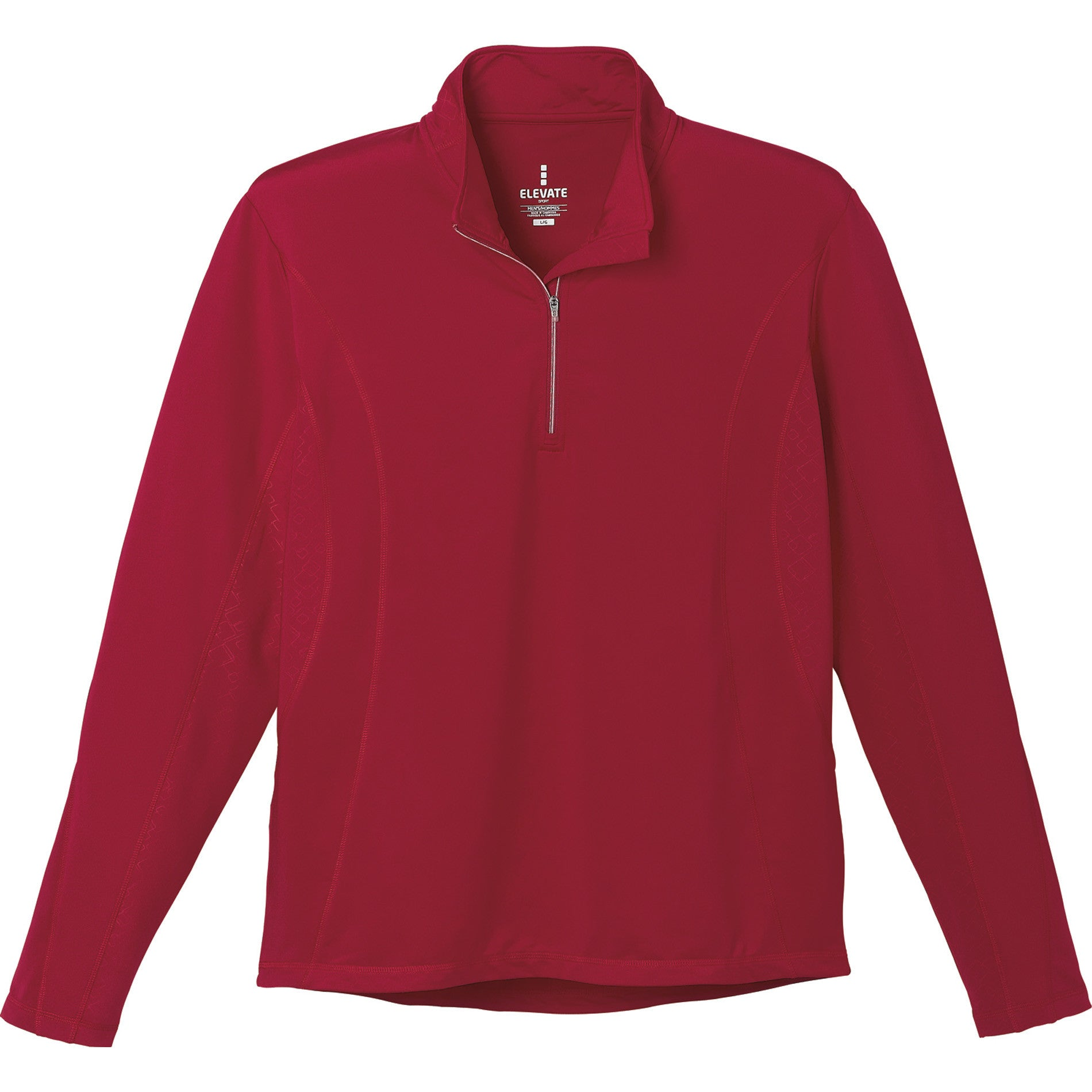 Caltech Men's Knit Quarter Zip