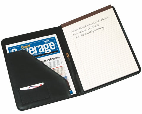 Deluxe Leather Writing Padfolio