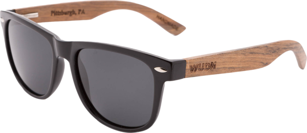 Men's and Women's - Ebony Wood, Wanderer Sunglasses