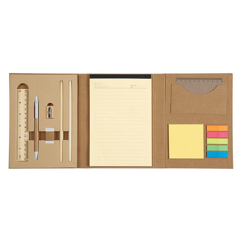 Eco-inspired Tri-fold Stationery Set