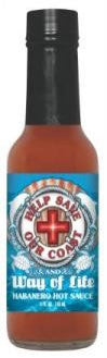 Help Save the Coast Hot Sauce