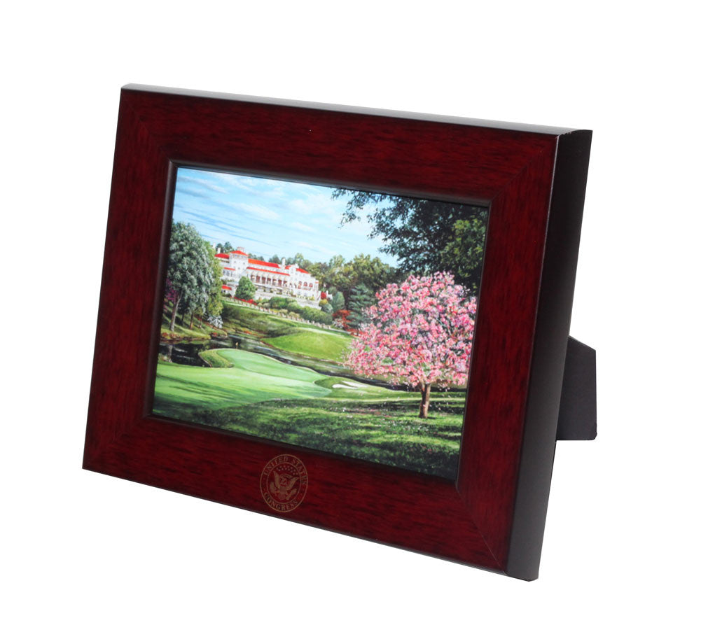 Oxford Mahogany Wood Frame