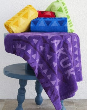 Jewel Collection Colored Towel (Embroidered)