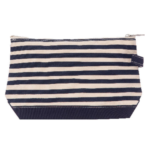 Stripe Make-up Bag