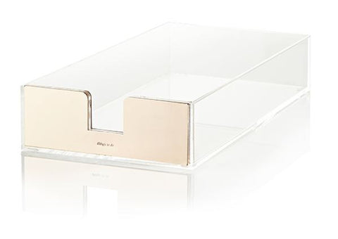 Kate Spade New York Acrylic Desk Tray