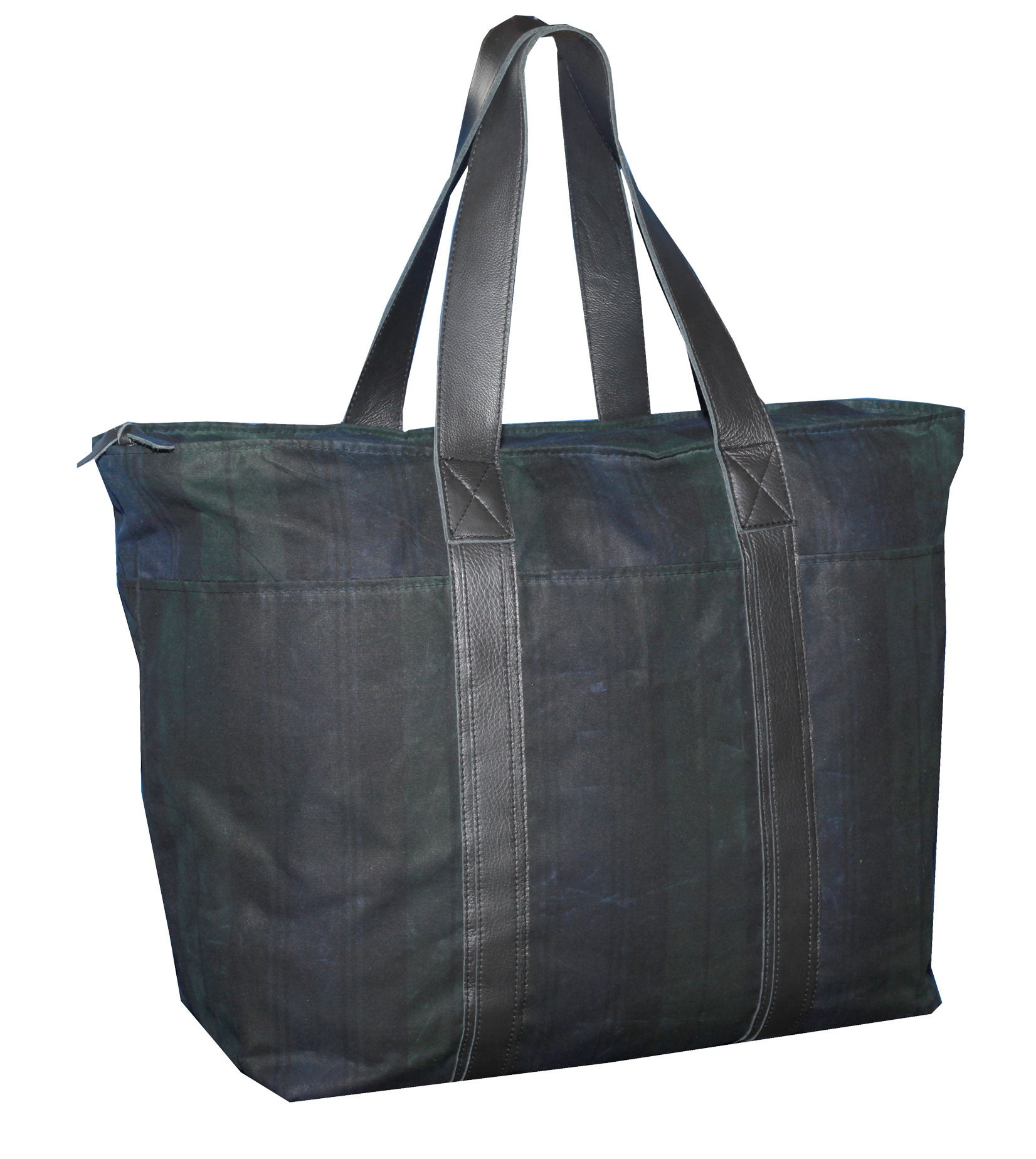 Kensington Tote - Black Watch Plaid