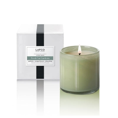 Lafco Fresh Cut Gardenia Living Room Candle