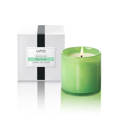 Lafco Mint & Tisane Meditation Room Candle