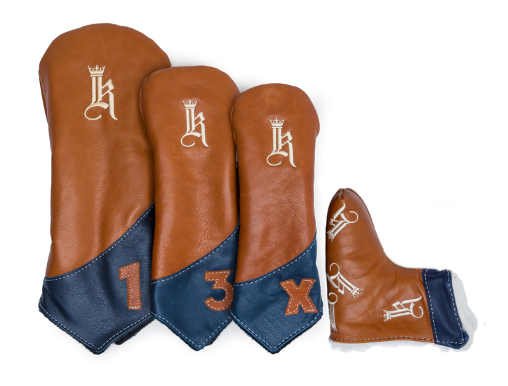 Links and Kings Leather Head Covers