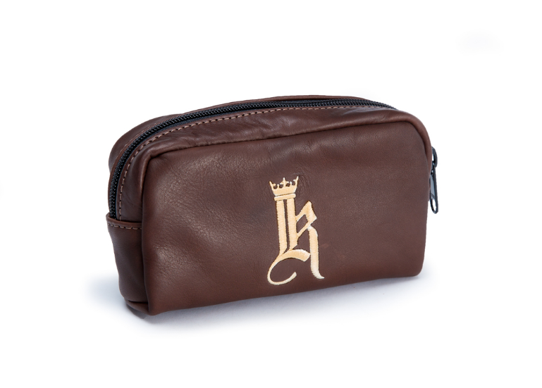 Links and Kings Zippered Pouch