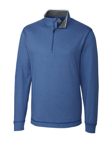 Cutter & Buck Men's DryTec Topspin  Half-Zip Shirt