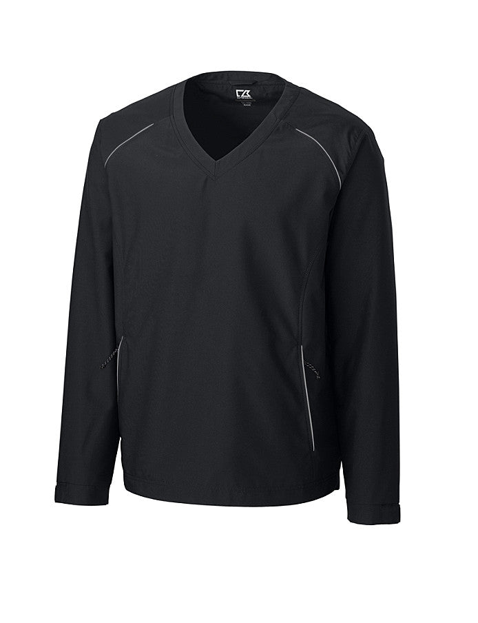 Cutter & Buck Men's WeatherTec Beacon V-neck Jacket