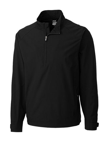 Cutter & Buck Men's WeatherTec Summit Half-Zip Jacket