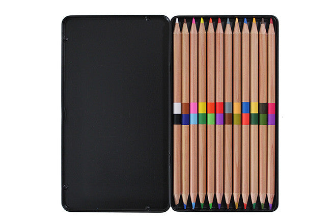 Dual Colored Pencils - Set of 12