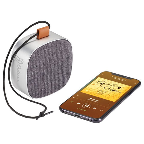 Metal & Fabric Waterproof Bluetooth Speaker