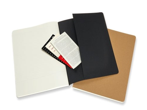 Moleskine Subject Cahier – Pack of 2