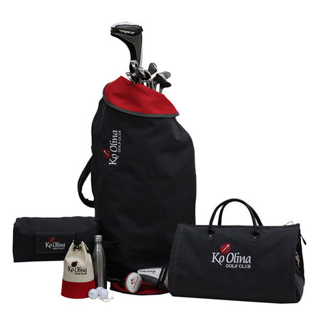 S&T Travel Golf Set  w/ RFID-Blocking Technology
