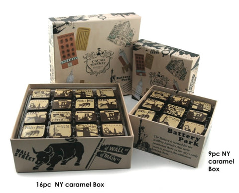 New York-themed Chocolates and Gift Box
