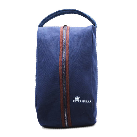 Peter Millar Clubhouse Classic Canvas Shoe Bag