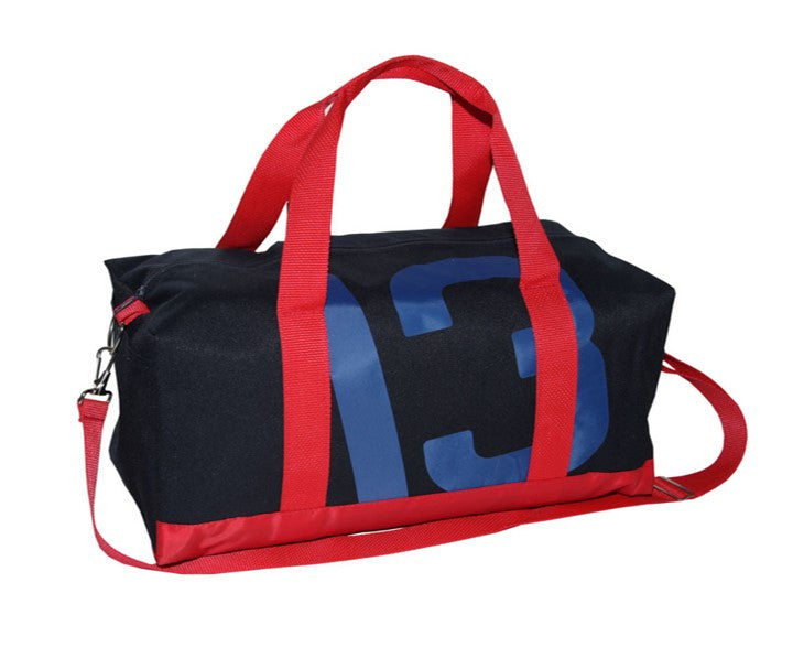Two-Tone Poly Sail Duffle