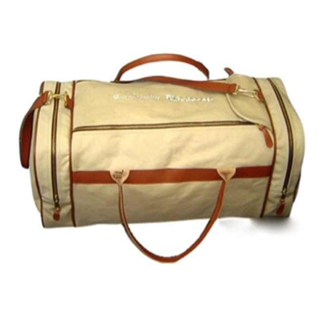 Deal Bag - Deluxe Duffle - Leather Trim