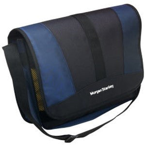Two-Tone Messenger Bag