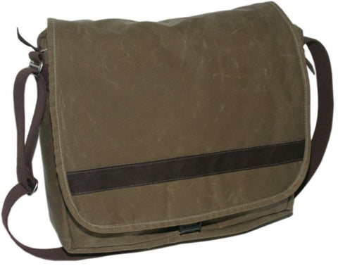 Outback Wax Messenger Bag