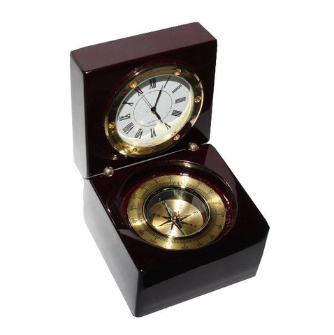 Rosewood Captain's Clock