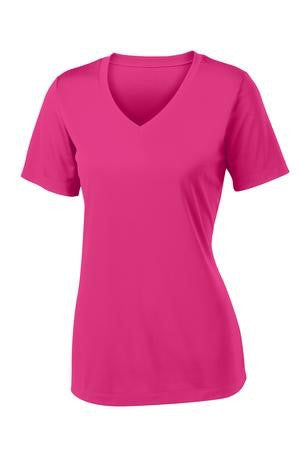 Sport-Tek Ladies V-Neck PosiCharge Tee