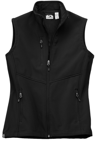 Women's Microfleece Lined Softshell Vest
