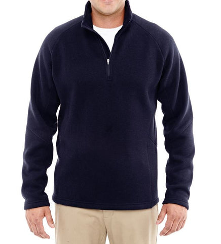 Sweater Fleece 1/4 Zip Jacket
