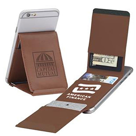 Smartphone Wallet + Phone Stand - Trifold