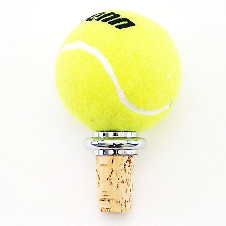 Tennis Ball Wine Stopper