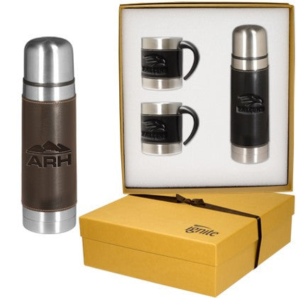 Thermos & Coffee Cups Gift Set