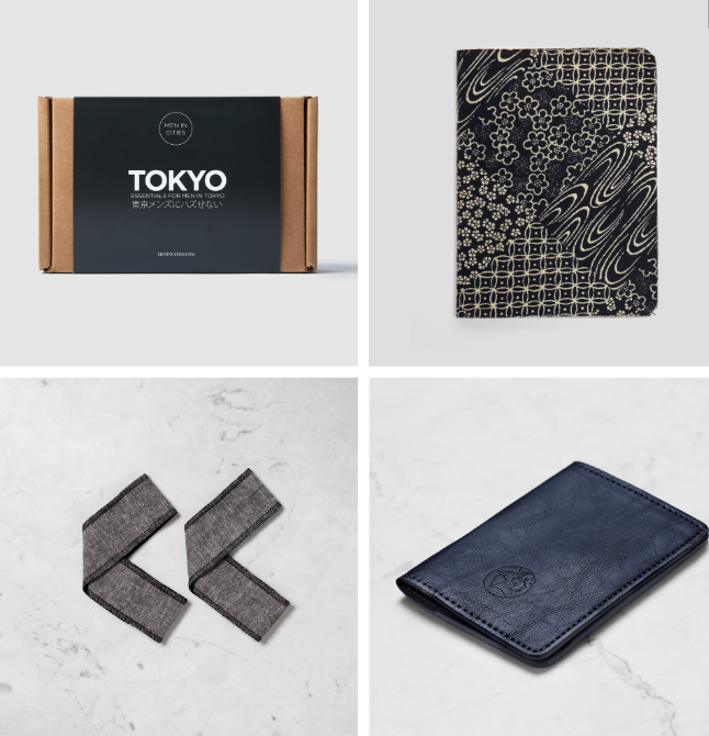 Essentials for Men in Tokyo Kit
