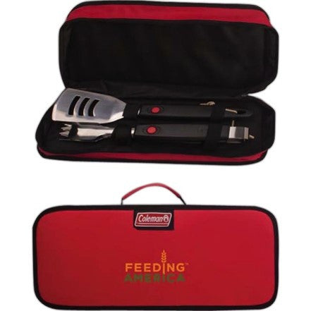 Two-Piece Travel Grill Set