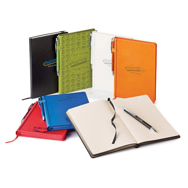 Weston Hard Cover Journal Combo