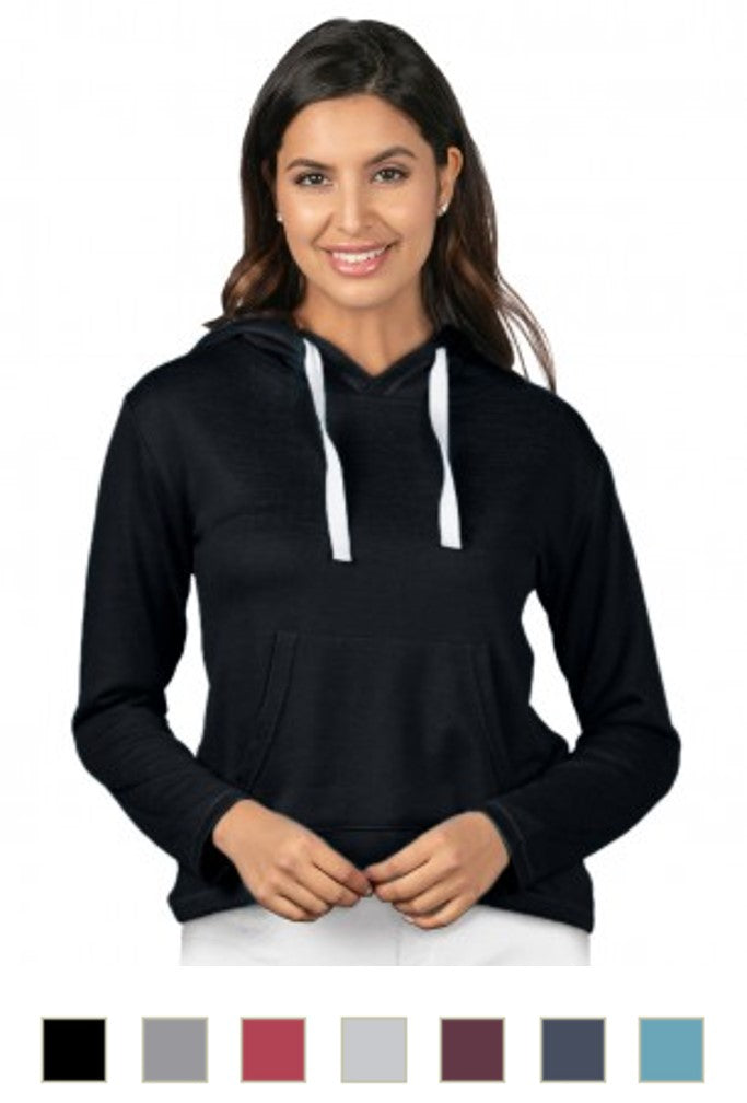 Women's Pullover Heather Knit Hoodie