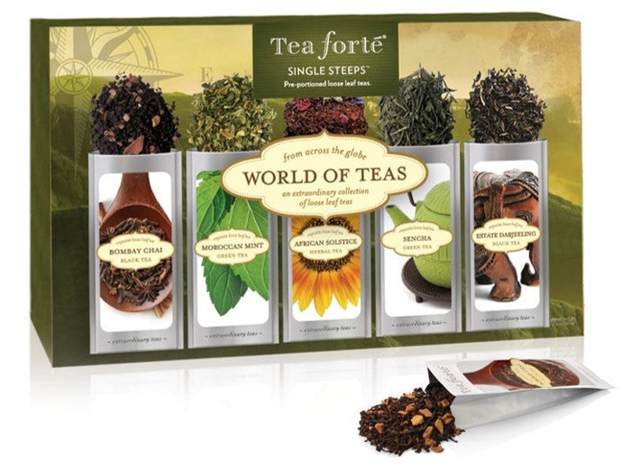 World of Teas Single Steeps Sampler